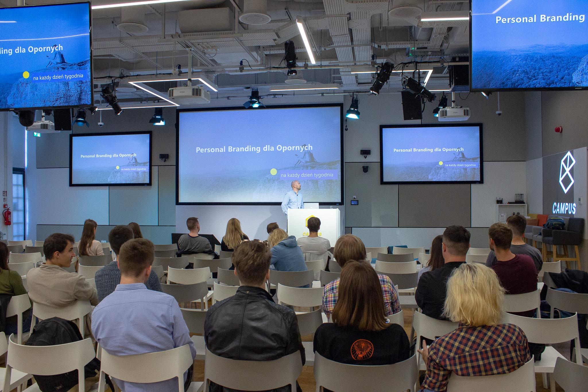 Google Campus Wyposażenie